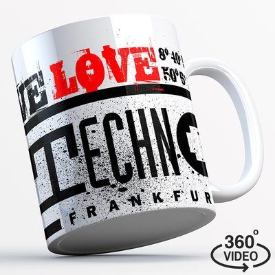 We love Technoclub Tasse