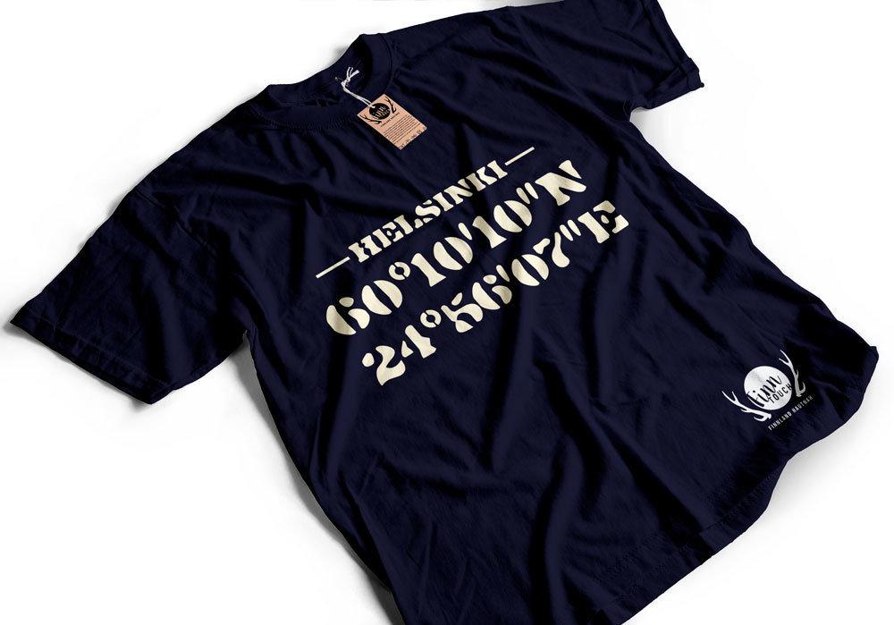 """""""Helsinki"""" T-Shirt (Men) M1-FT 11178"""