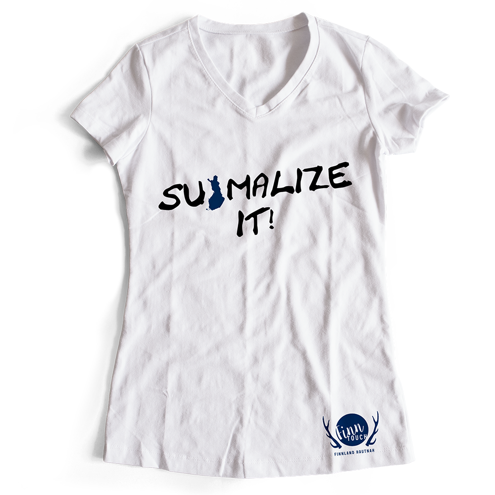 """Suomalize it!"" T-Shirt (Women) M1-FT 11183"