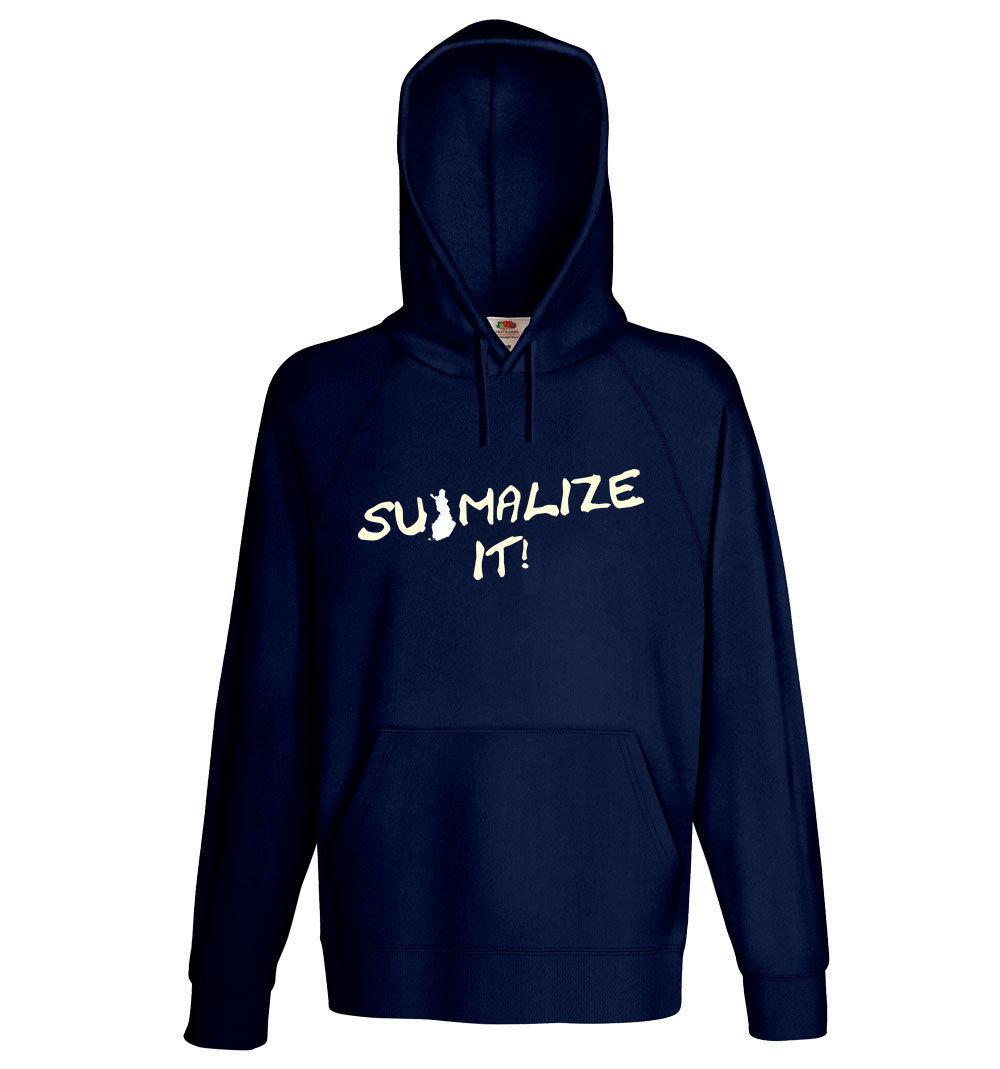 """Suomalize it!""  Hoodie (Unisex) M1-FT 11199"