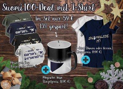 Suomi100-Deal mit T-Shirt