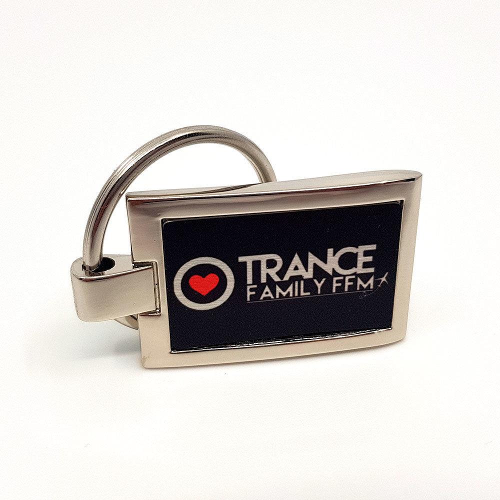 Trancefamily FFM Schlüsselanhänger (mit 360-Grad Ansicht)