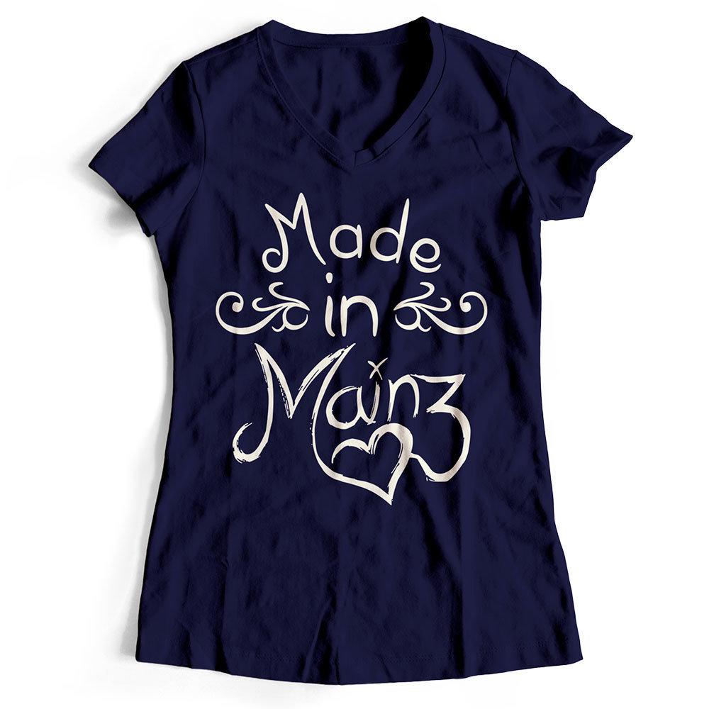 """T-Shirt """"Made in Mainz"""" (Damen) 11251"""