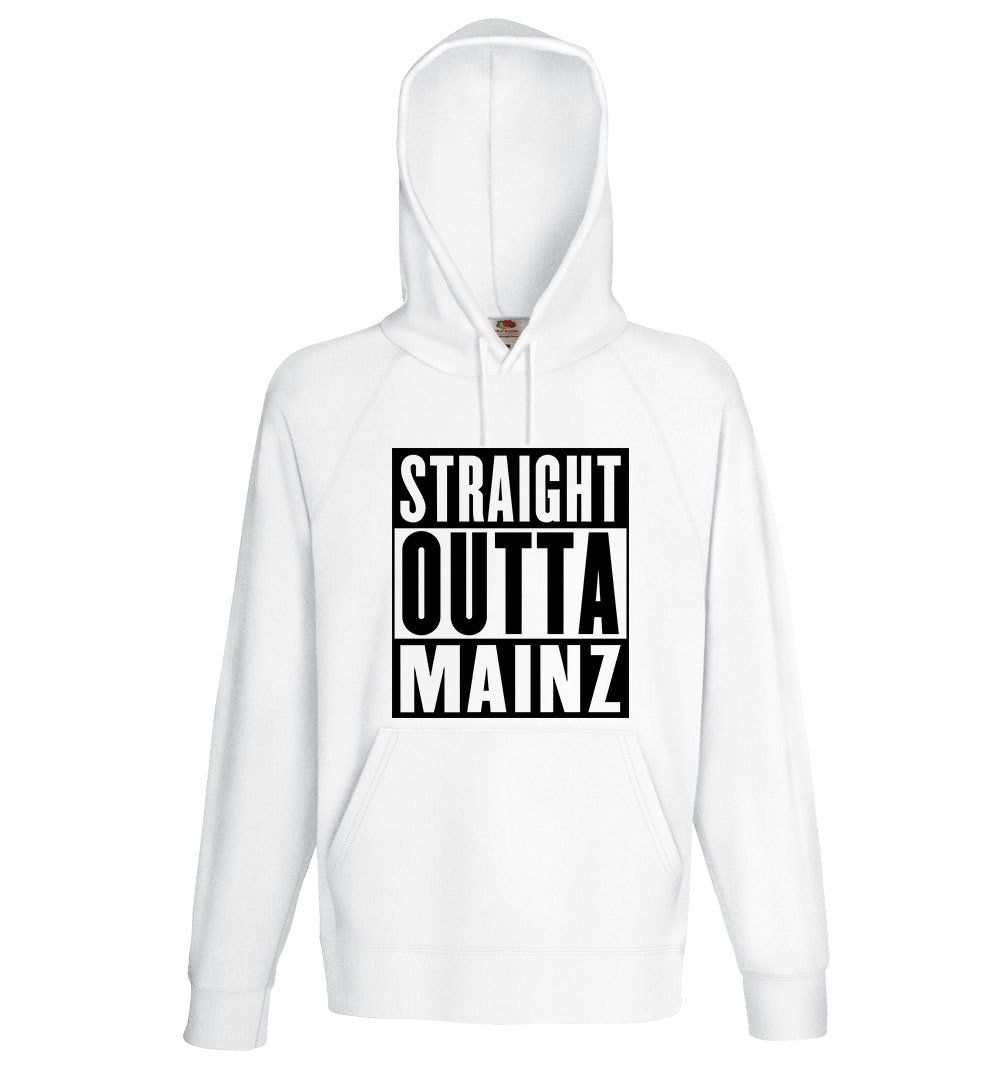 "Premium Hoody ""Straight outta Mainz"" (Unisex)"