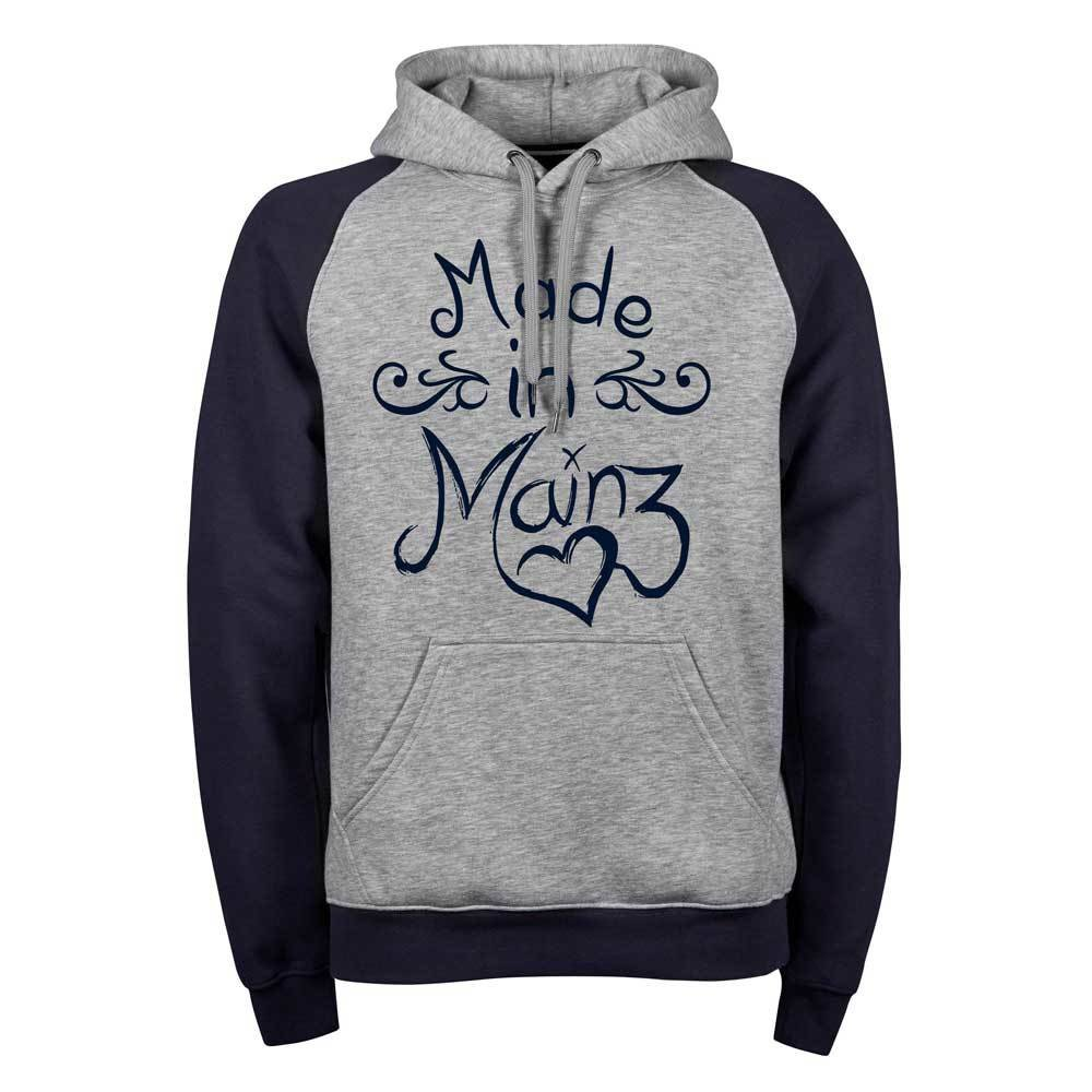 """Made in Mainz"" (Premium Two-Tone Hoody) 11254"