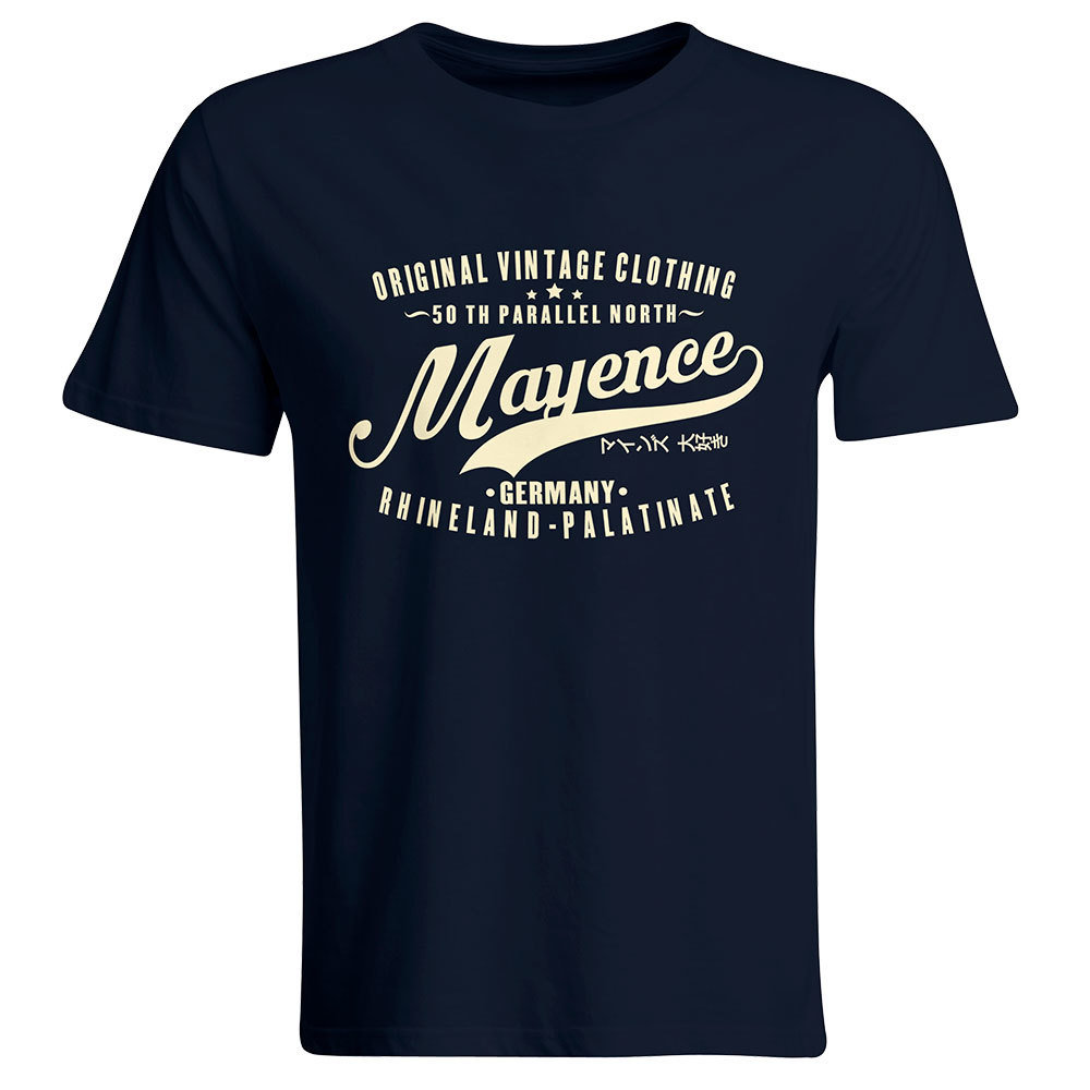 "Mainz T-Shirt ""50 th parallel North - Mayence"" (Herren) 11284"