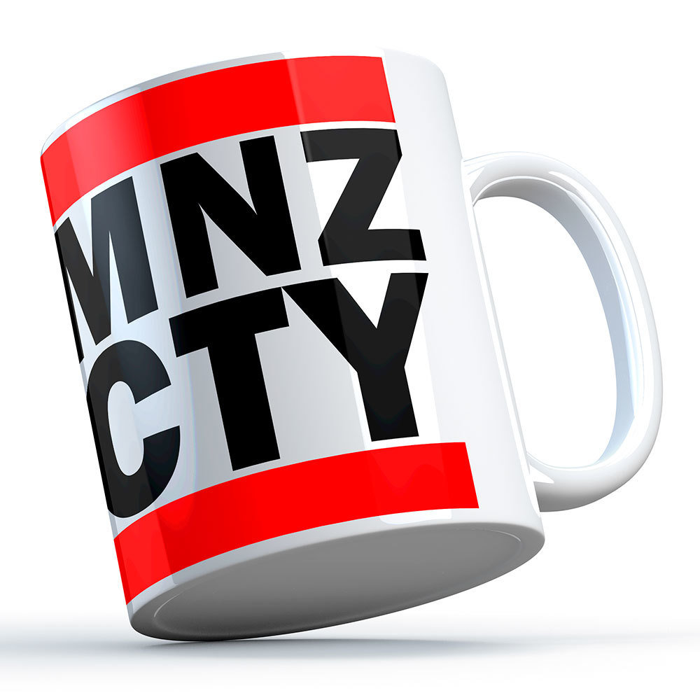 """MNZ CTY"" Oldschool Keramiktasse 11264"