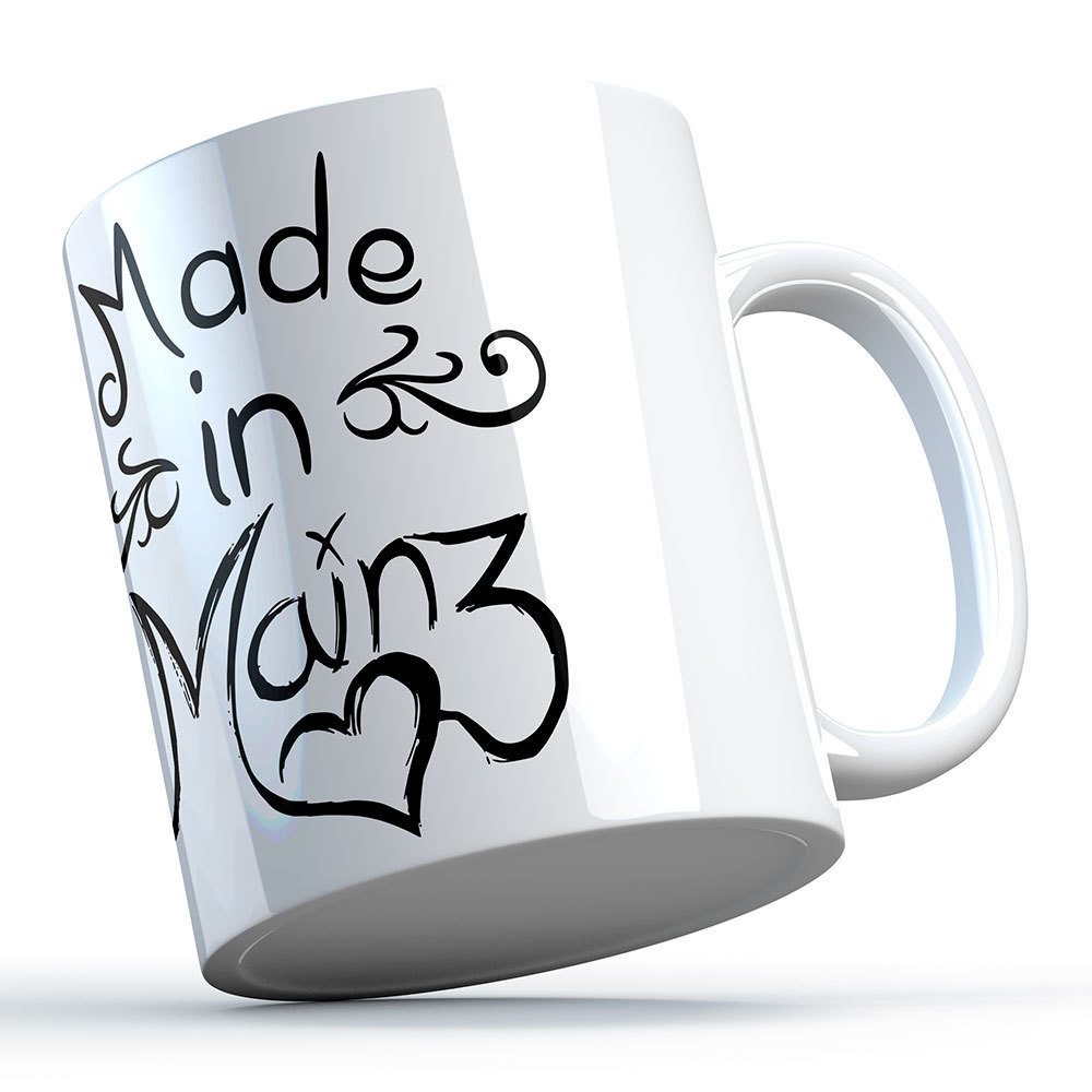 """Made in Mainz"" Keramiktasse (Aktion!) 11289"