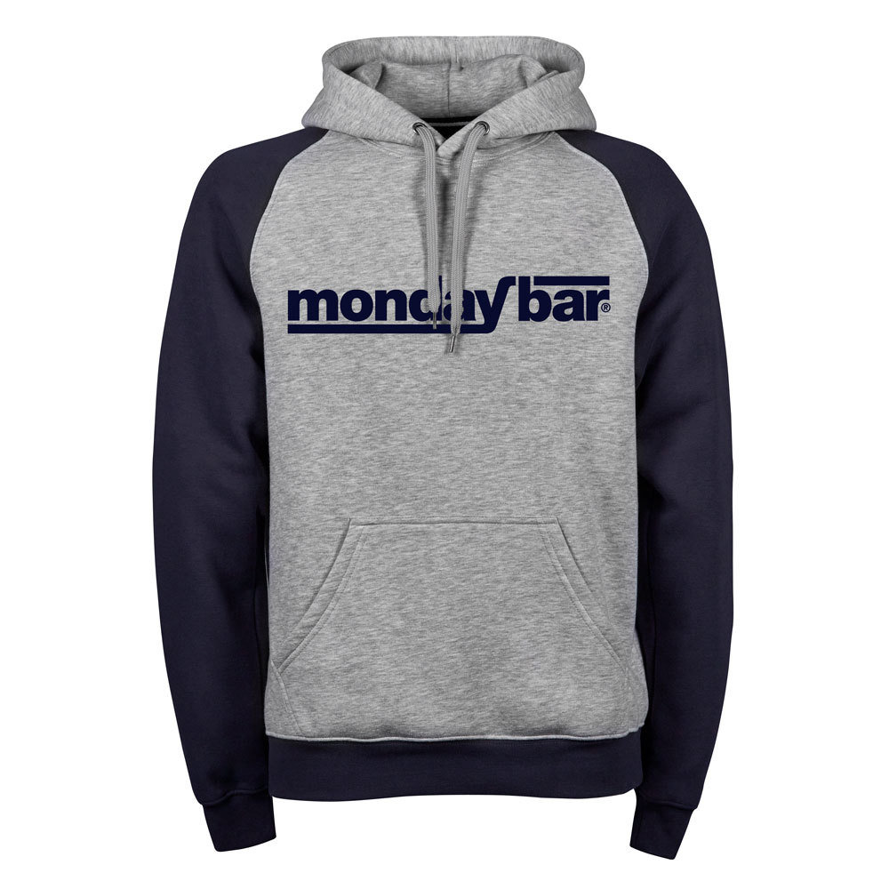 Premium Two-Tone Monday Bar Hoodie (Unisex)
