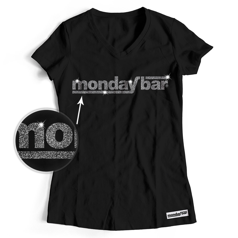 Official Monday Bar T-Shirt MAGIC GLITTER EDITION (Women)