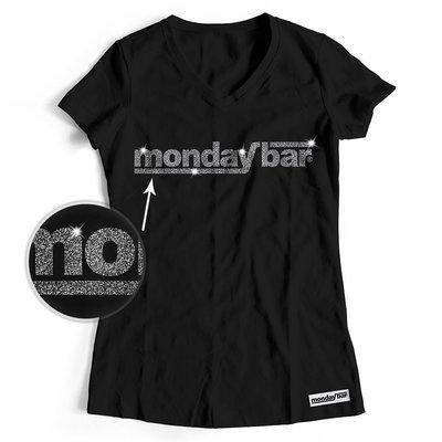 Official Monday Bar T-Shirt MAGIC GLITTER EDITION (Women)