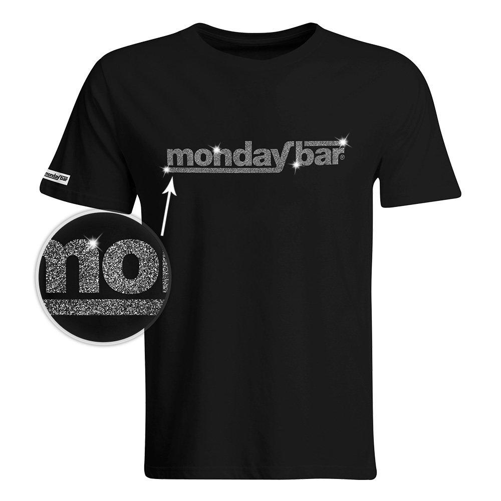 Official Monday Bar T-Shirt MAGIC GLITTER EDITION (Men)