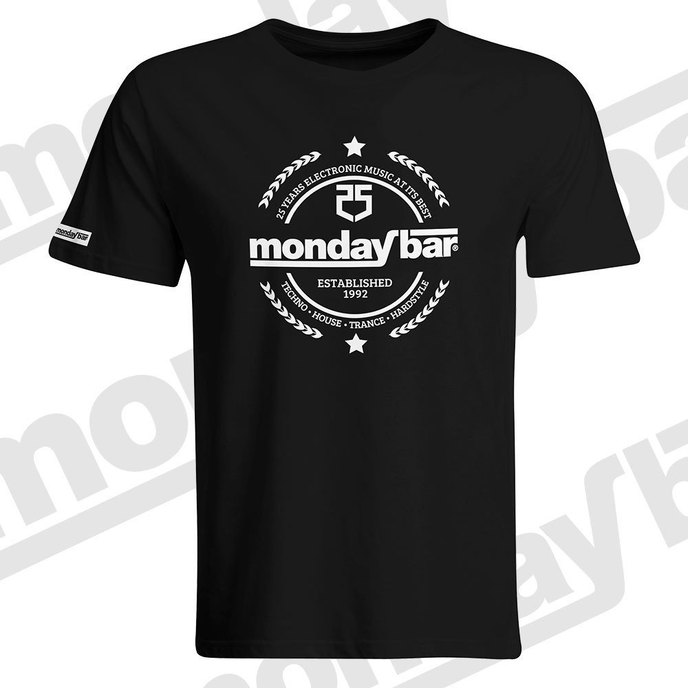 Monday Bar 25 Years Anniversary T-Shirt (Men)