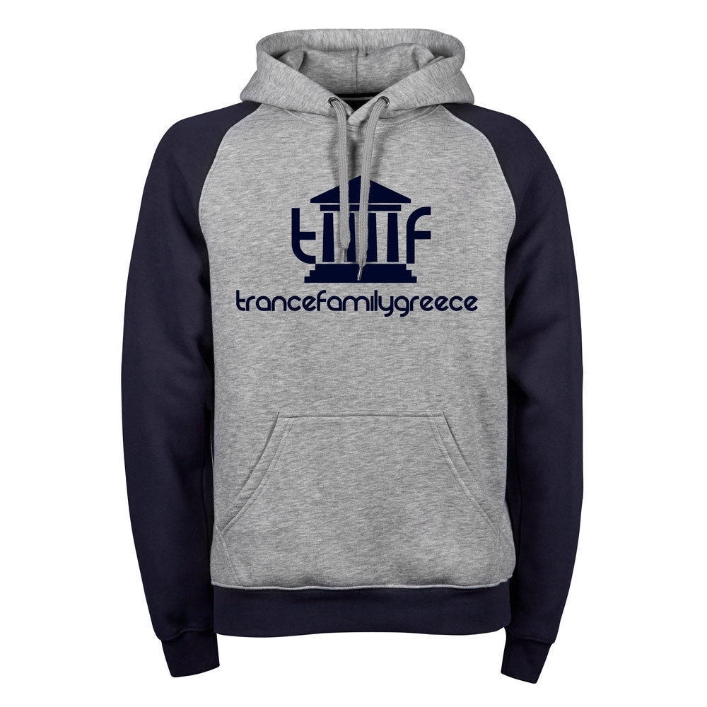 Trancefamily Greece Premium Two-Tone Hoodie (Unisex)