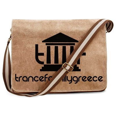 Trancefamily Greece Premium Messengerbag (Vintage Design)
