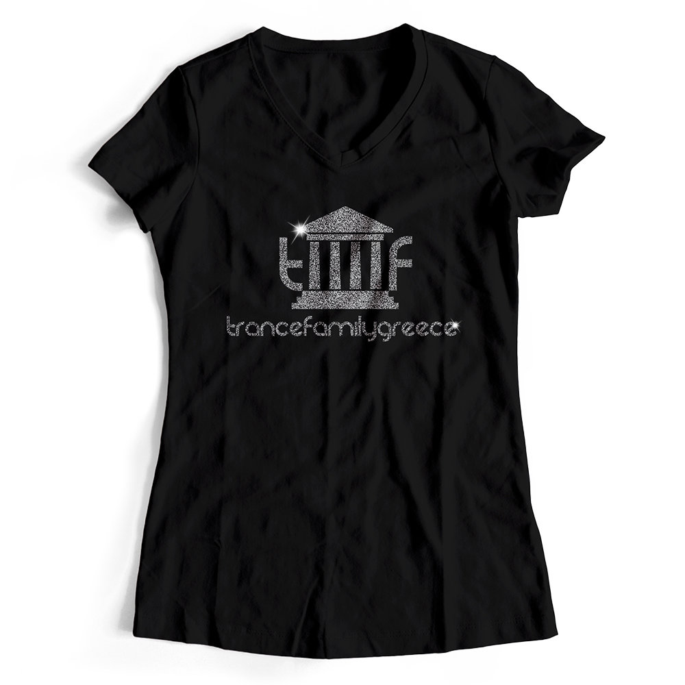 Trancefamily Greece T-Shirt MAGIC GLITTER EDITION (Women)