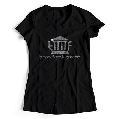 Trancefamily Greece T-Shirt MAGIC GLITTER EDITION (Women)