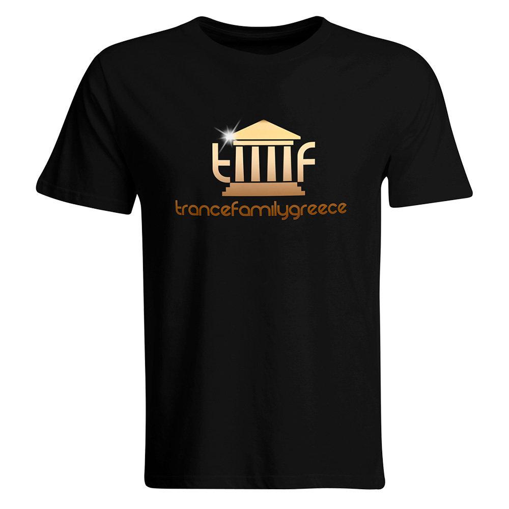 Trancefamily Greece T-Shirt GOLD EDITION (Men)