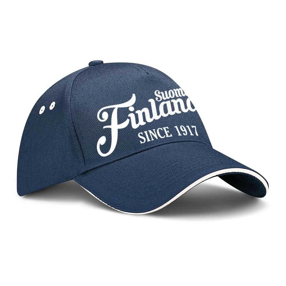 "Finnland Basecap ""Suomi Finland - since 1917"" M1-FT 39811"