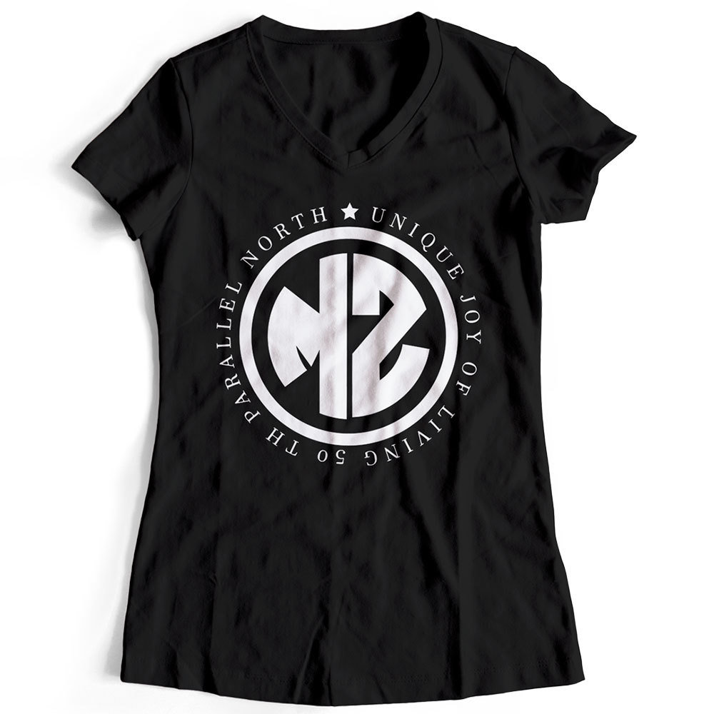 "T-Shirt ""MZ - Unique joy of living"" (Damen) 09012"