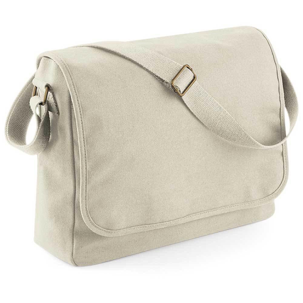Premium Messenger Tasche (Farbe Creme) 92328