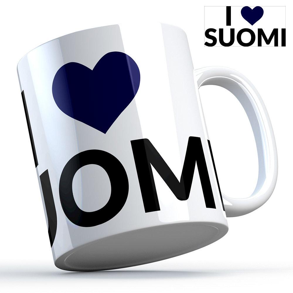 "Finnland Tasse ""I love Suomi"" M1-FT 11116"