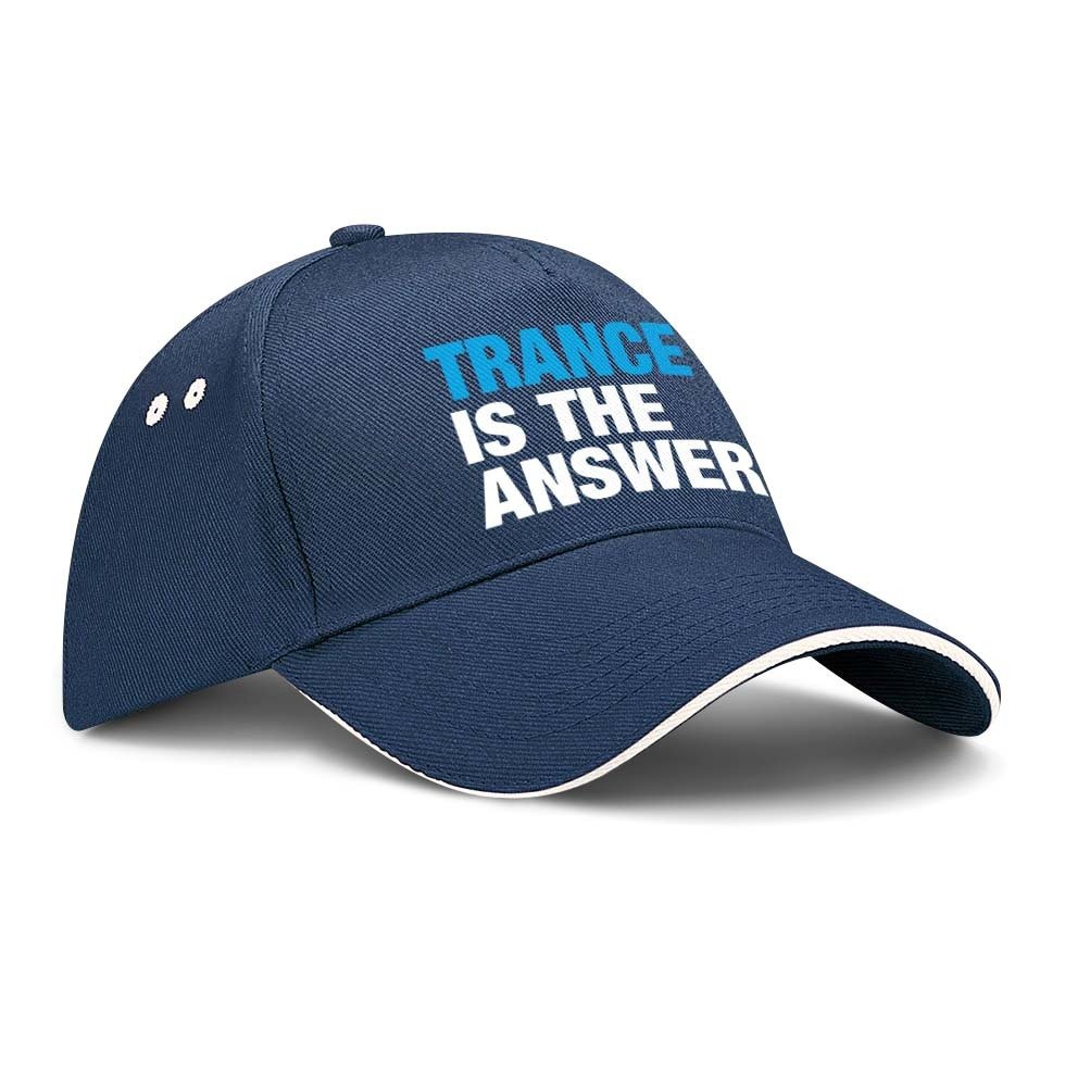 Trance is the answer Basecap (Version 1) M1-TFC 66812