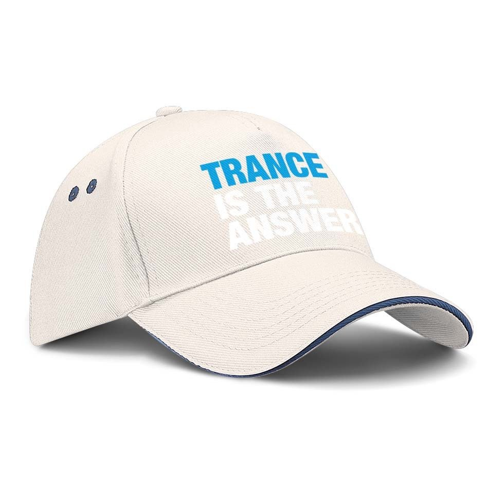 Trance is the answer Basecap (Version 1)