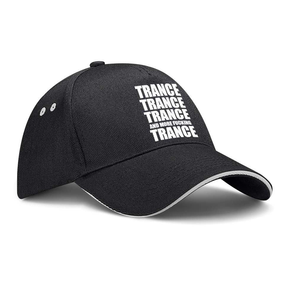Trance More Fucking Trance Basecap