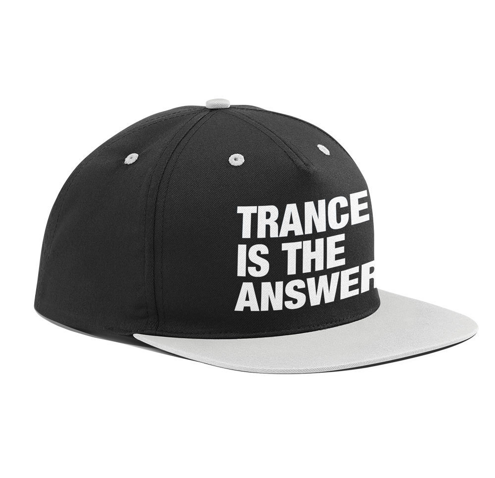 Trance is the answer (Original Trancefamily Snapback)