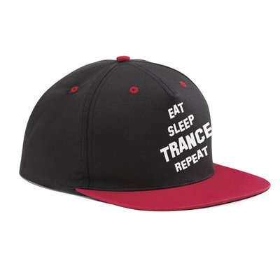 Eat sleep Trance repeat (Original Trancefamily Snapback)