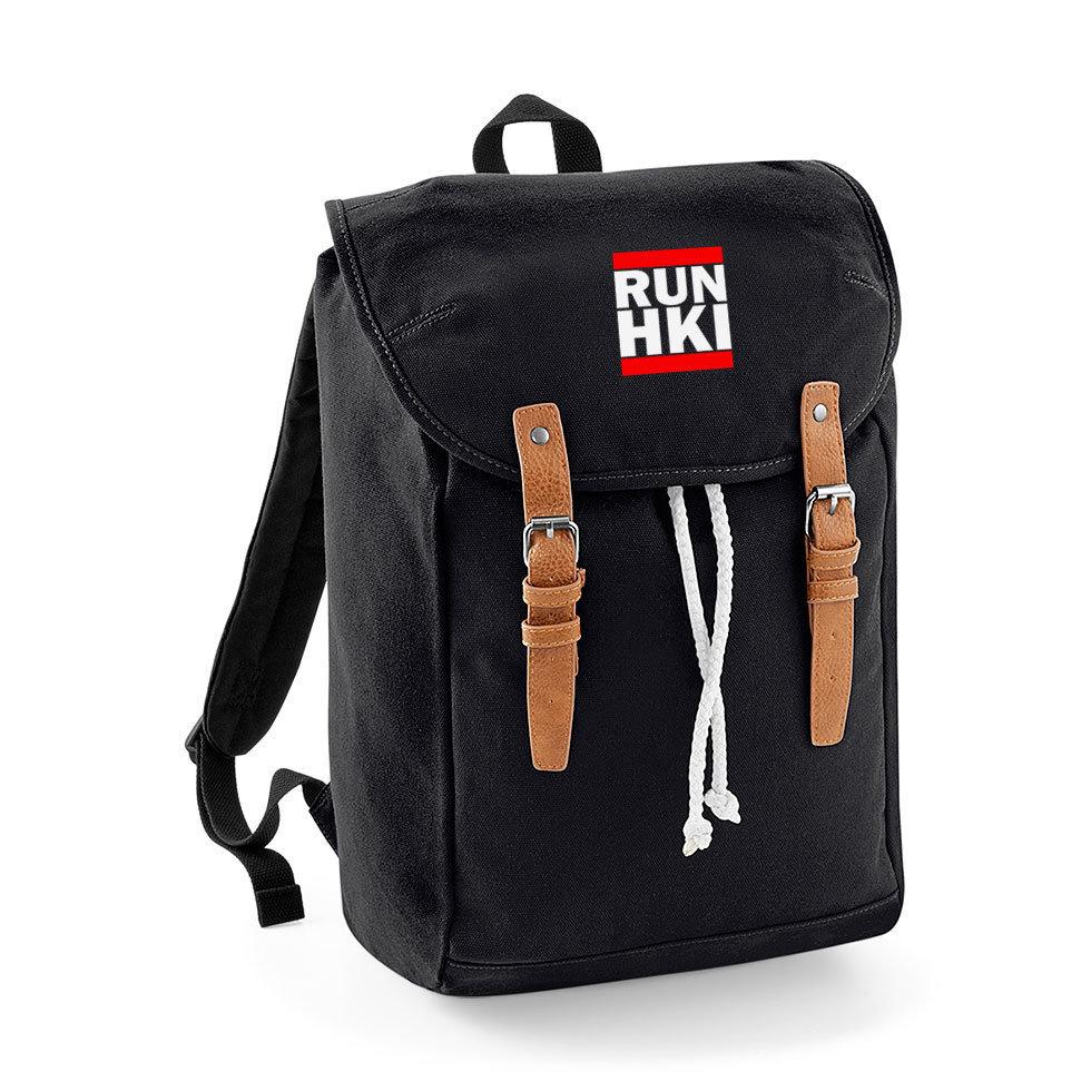 """""""RUN HKI"""" Vintage Rucksack M1-FT 32799"""