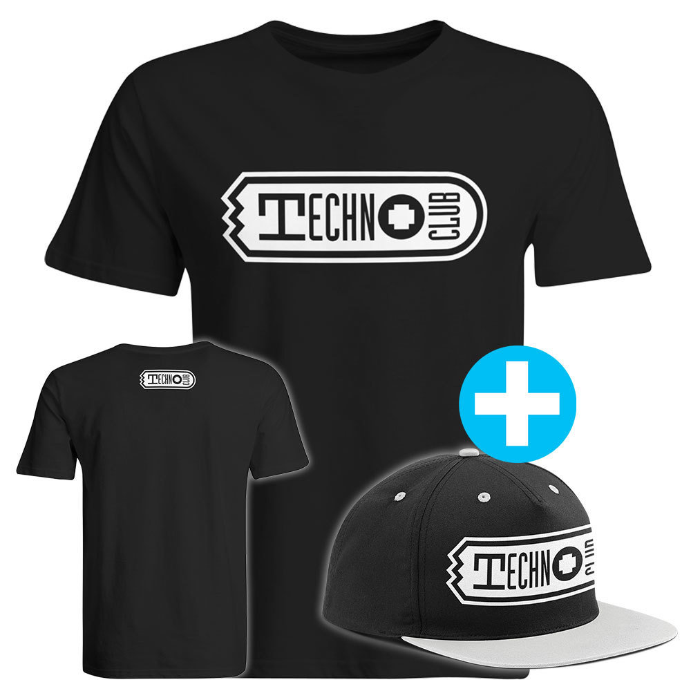 Technoclub T-Shirt + Snapback (Men)
