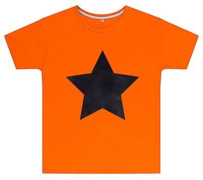 Kreideshirt mit Stern-Motiv inkl. 12er-Pack Kreide