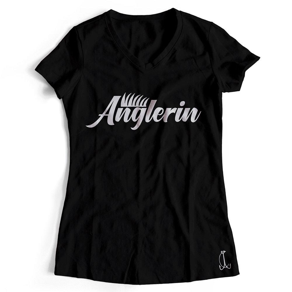 """""""Anglerin"""" T-Shirt (Damen)"""