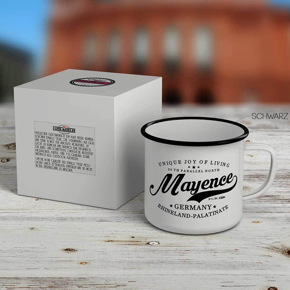 """""""Mayence - 50 th parallel North""""  Emaille-Tasse 81000"""