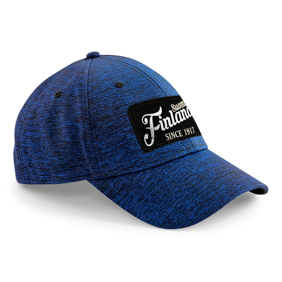 """Suomi Finland - since 1917"" Stretch-Fit Basecap"