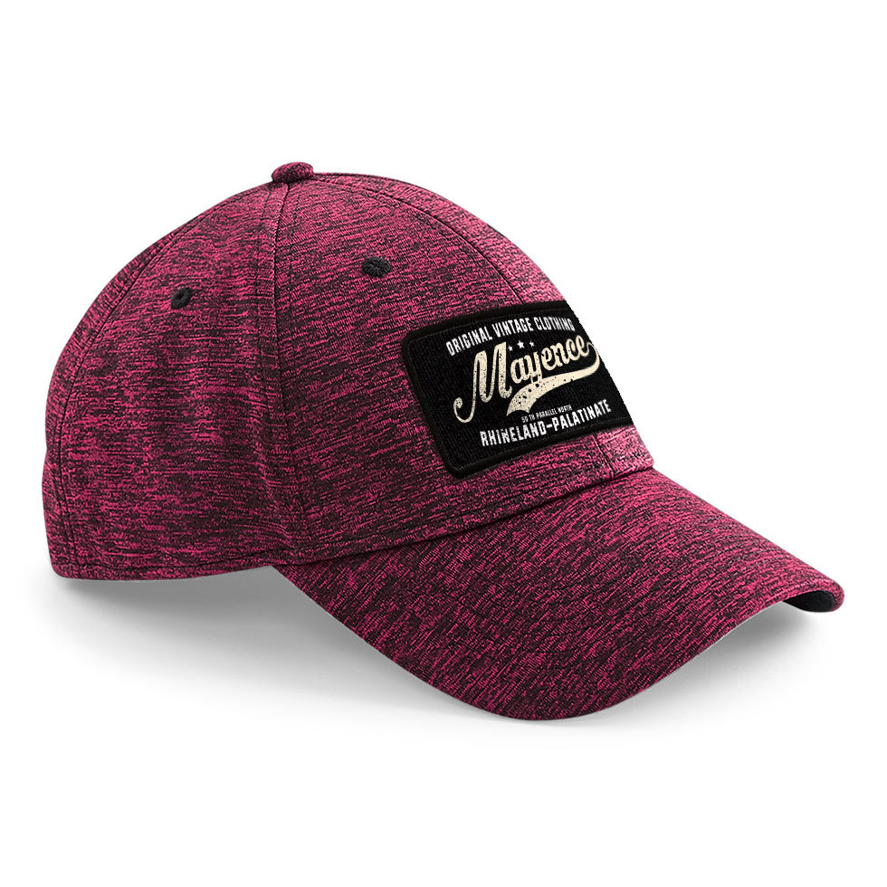 """""""50 th parallel North - Mayence"""" Stretch-Fit Basecap"""