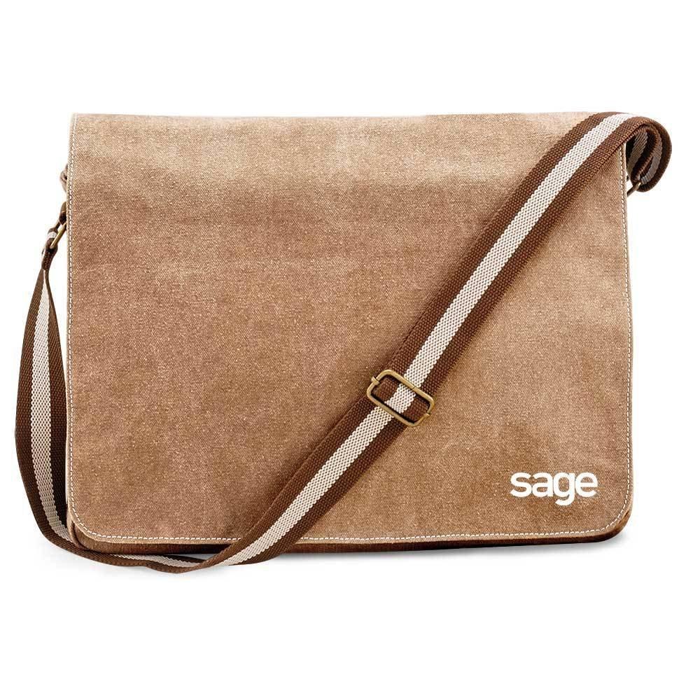 SAGE Premium Vintage Messengertasche