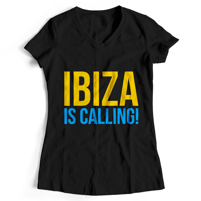 Ibiza is calling! (#trancefamily T-Shirt Women)