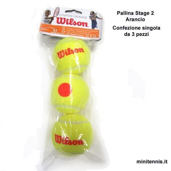 Pallina Wilson Stage2 Arancio