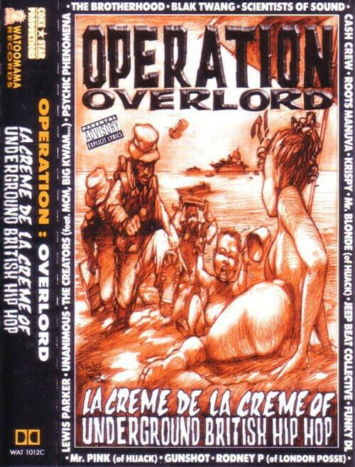 """[Cassette] Compilation """"OPERATION OVERLORD - La Crème De La Crème Of British Hip-Hop"""""""