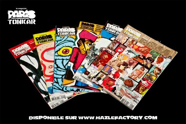[Abonnement FRANCE Subscription] PARiS TONKAR™ iNTERNATiONAL  4 numéros/issues  (± 1 an/year)