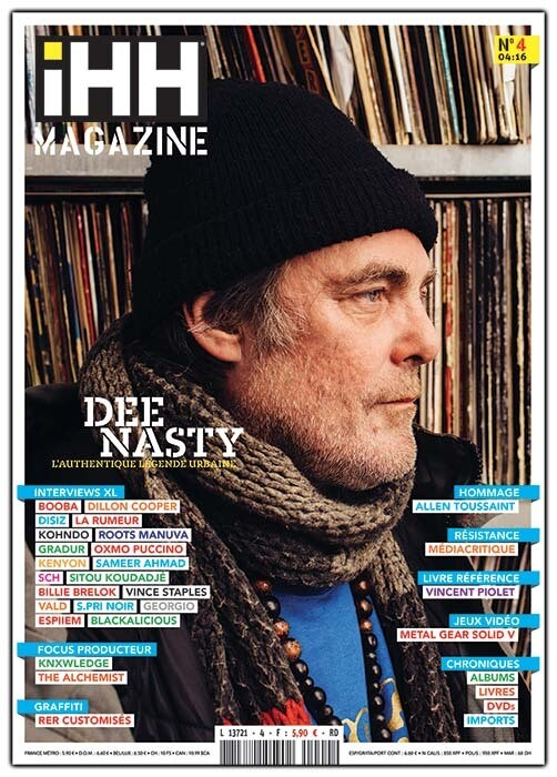 iHH™ MAGAZiNE  n° 4 (issue #4) >> 100 pages ! DEE NASTY + etc.