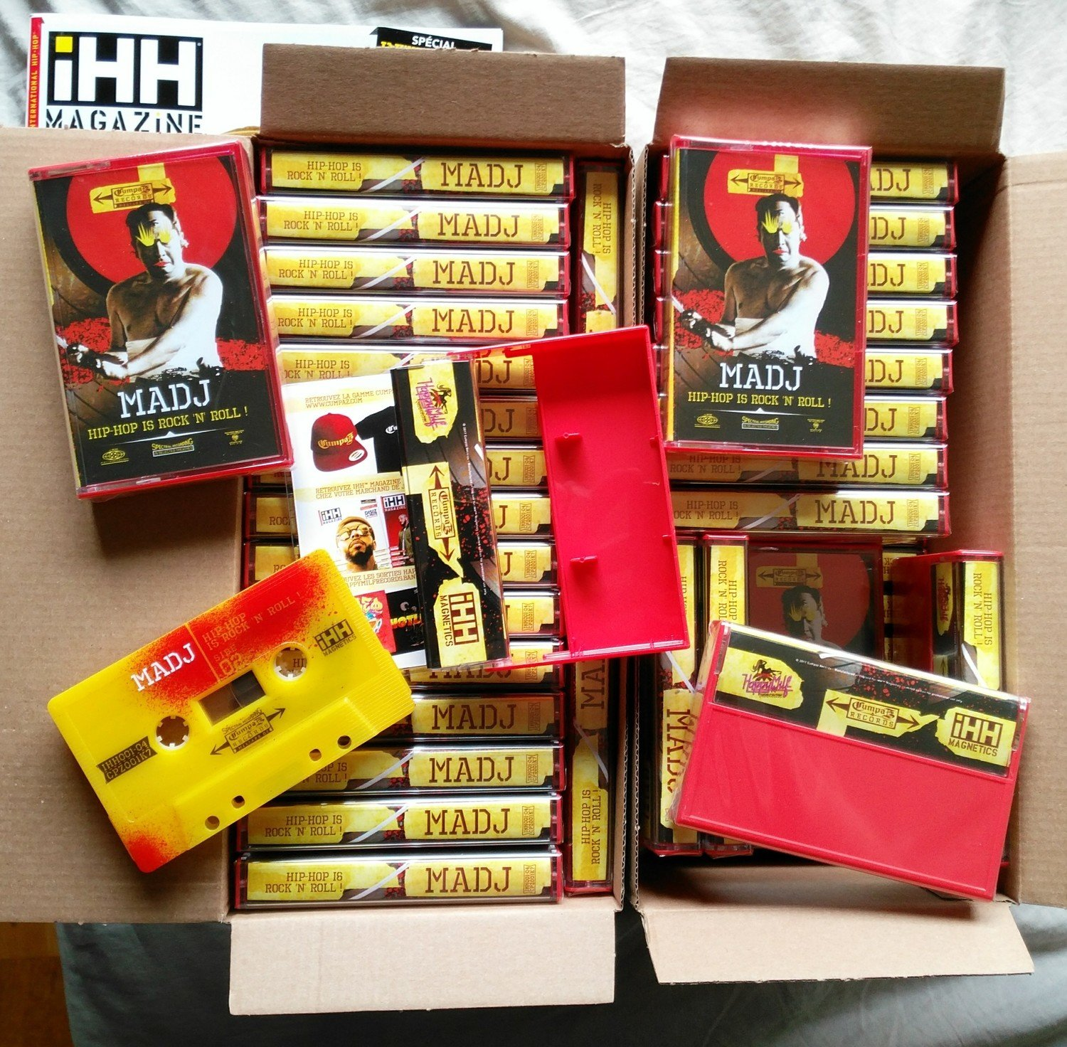"[Cassette]  MADJ ""Hip-Hop Is Rock 'n' Roll""  (iHH™ Magnetics x Cumpaz x Madj)"
