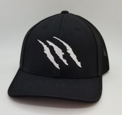 Raptors Flex-Fit Hat - Black
