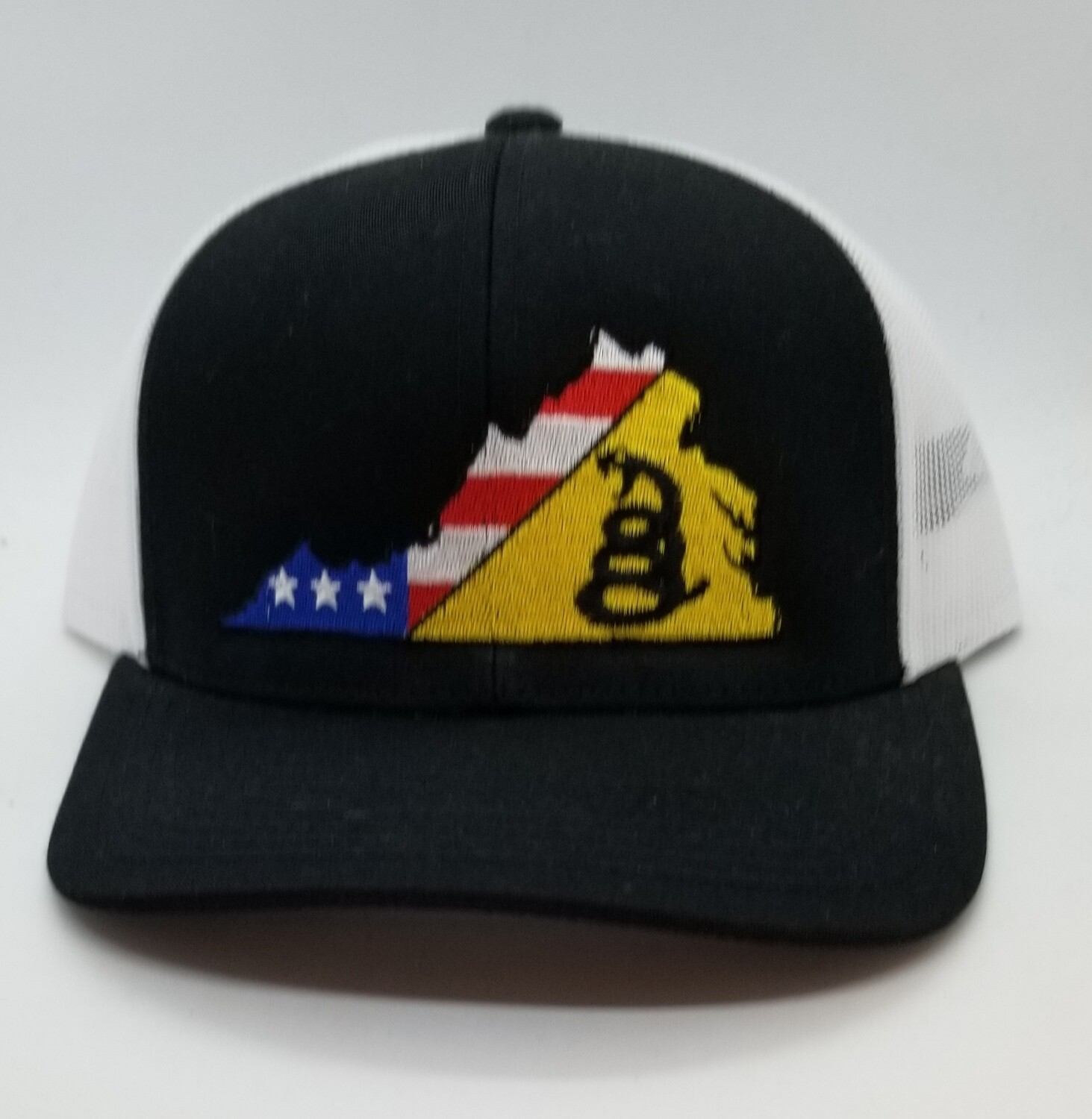 Don't Tread on Me VA Flag Hat - 4 colors available