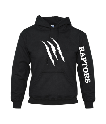 Claw Hooded Cotton Sweatshirt - Adult & Youth
