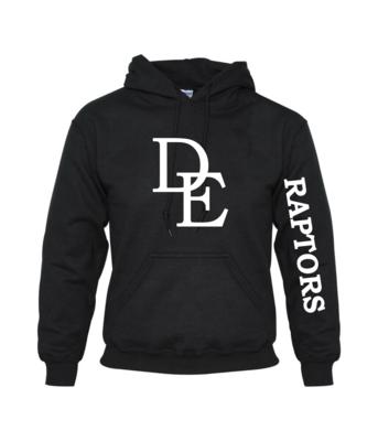 DE Hooded Cotton Sweatshirt - Adult & Youth