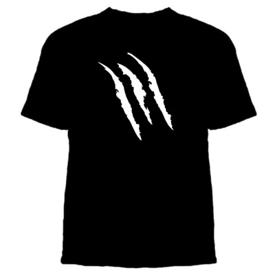 Claw Short-Sleeved Cotton T-shirt - Adult & Youth